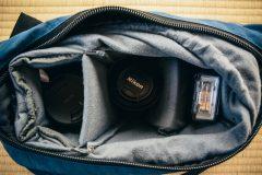 いいカメラバックが見つからないなら、インナーバッグがオススメ